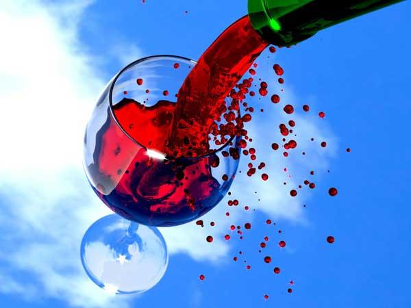 taça com vinha